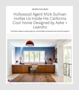 Hollywood Agent Mick Sullivan Invites Us Inside His California Cool Home Designed by Ashe + Leandro